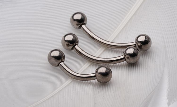 Titanium nose ring