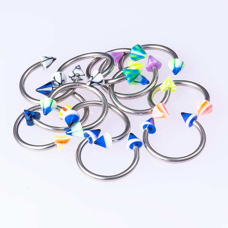 Unique Septum Rings