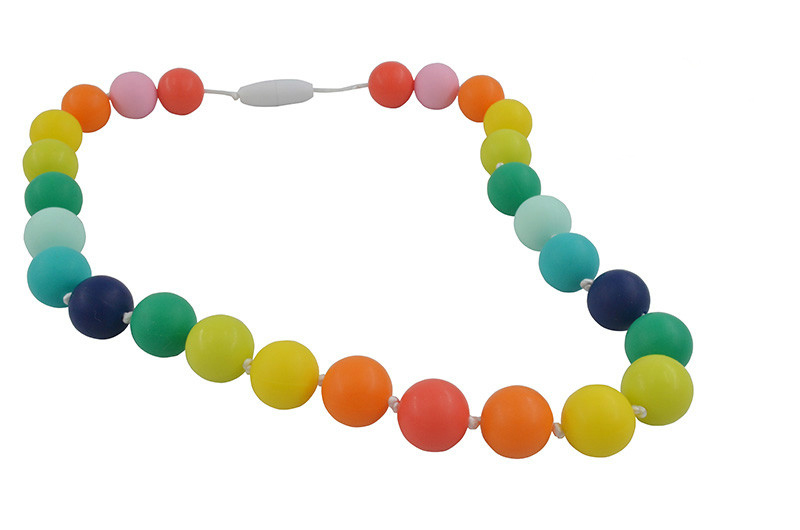 baby chewing necklace