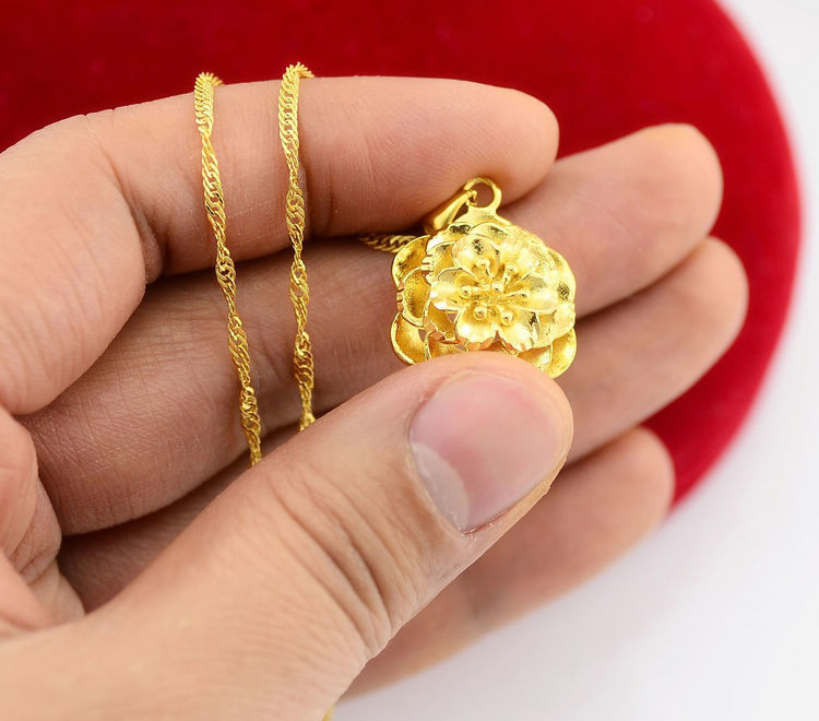 gold plated jewel