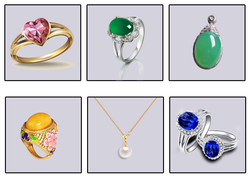 kinds of jewelry