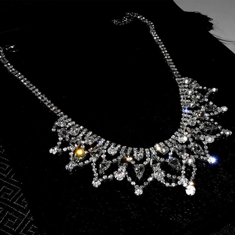 Strapless Dress Necklace