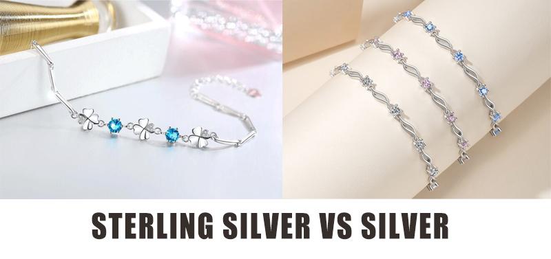 Sterling Silver Vs Silver