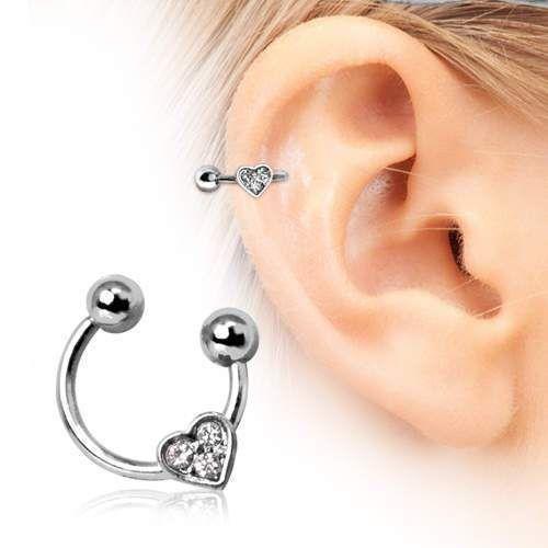 Circular barbell earing