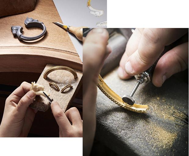 Fabricated jewelry