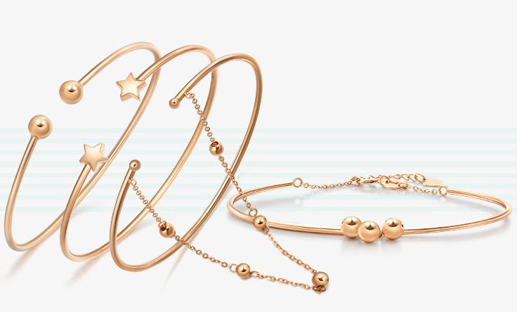 Gold Plated Jewelry bracelet