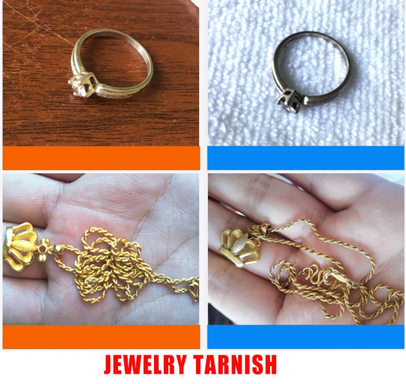 Jewelry tarnish