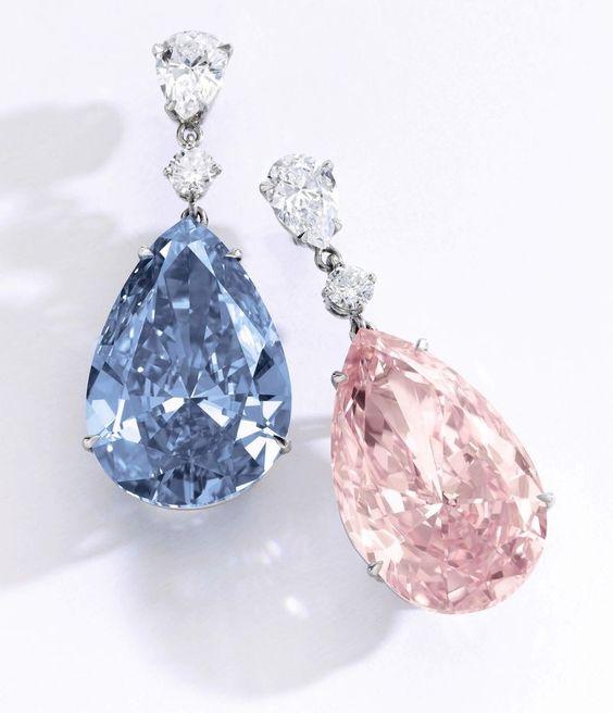 The Artemis and Apollo diamond earrings