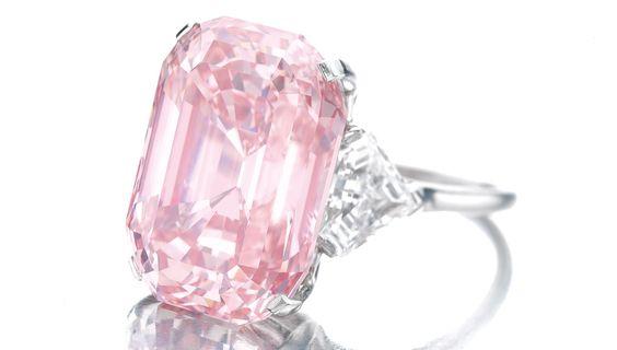 The Graff Pink Diamond Ring