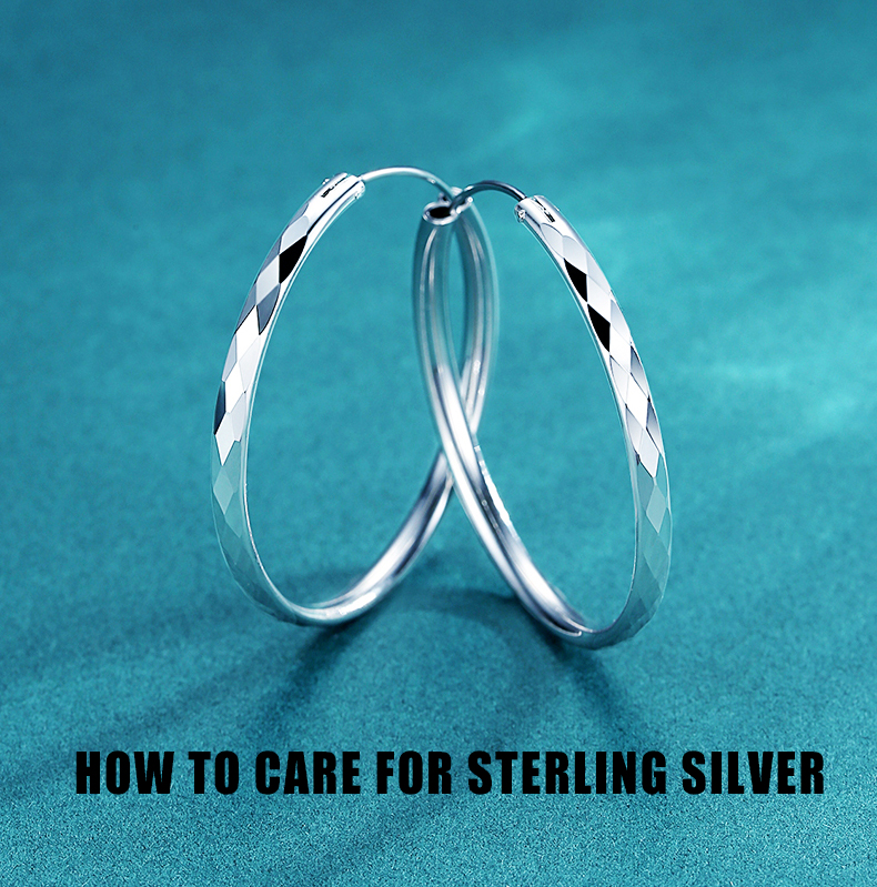 how to care for sterling silver