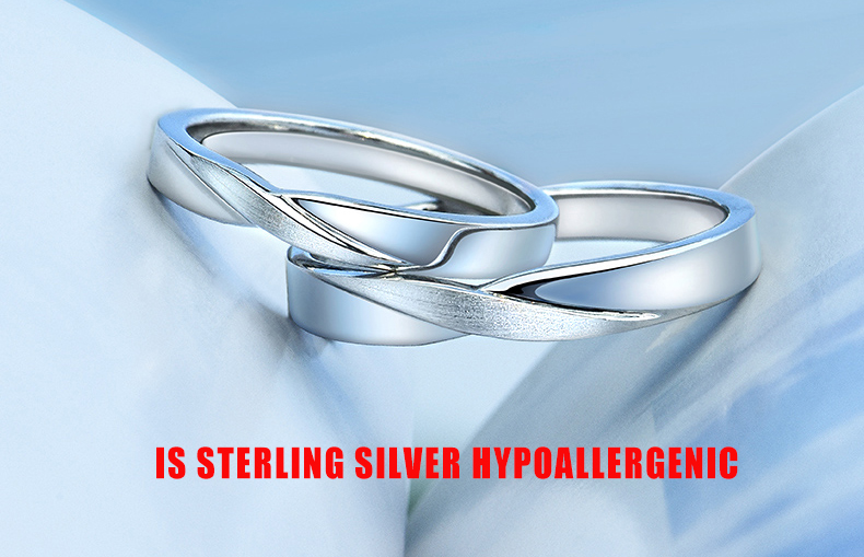 is sterling silver hypoallergenic
