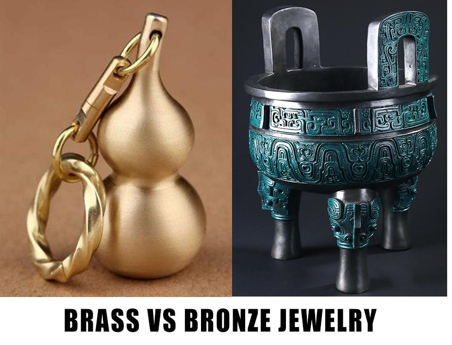 Brass Vs Bronze Jewelry