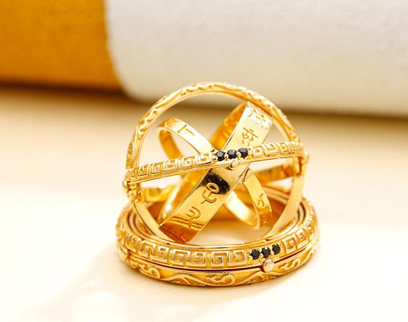 Gold plating ring