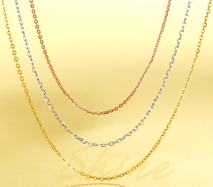 Plated Jewelry Necklace