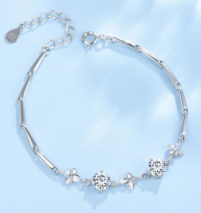 Silver Plated Bracelet 1