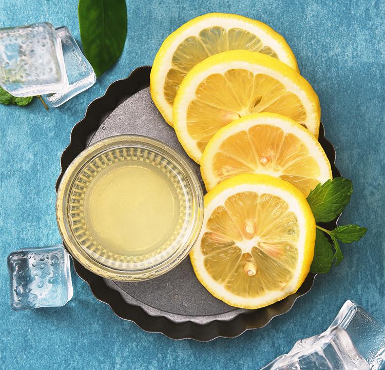 lemon juice salt