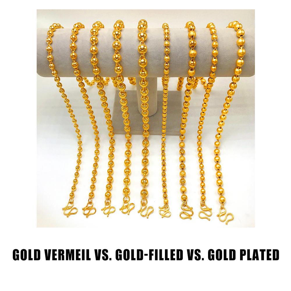 Gold Vermeil Vs. Gold Filled Vs. Gold Plated 1