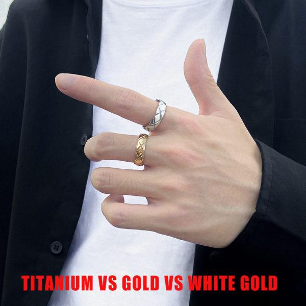 Titanium Vs Gold Vs White Gold