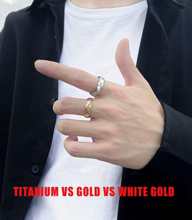 Titanium Vs Gold Vs White Gold