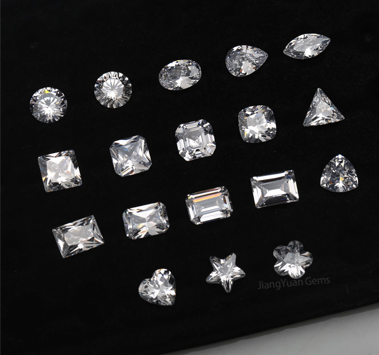 different kinds of Cubic Zirconia