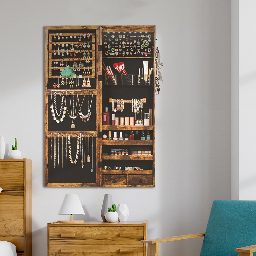 Best Wall Mounted Jewelry Organizer