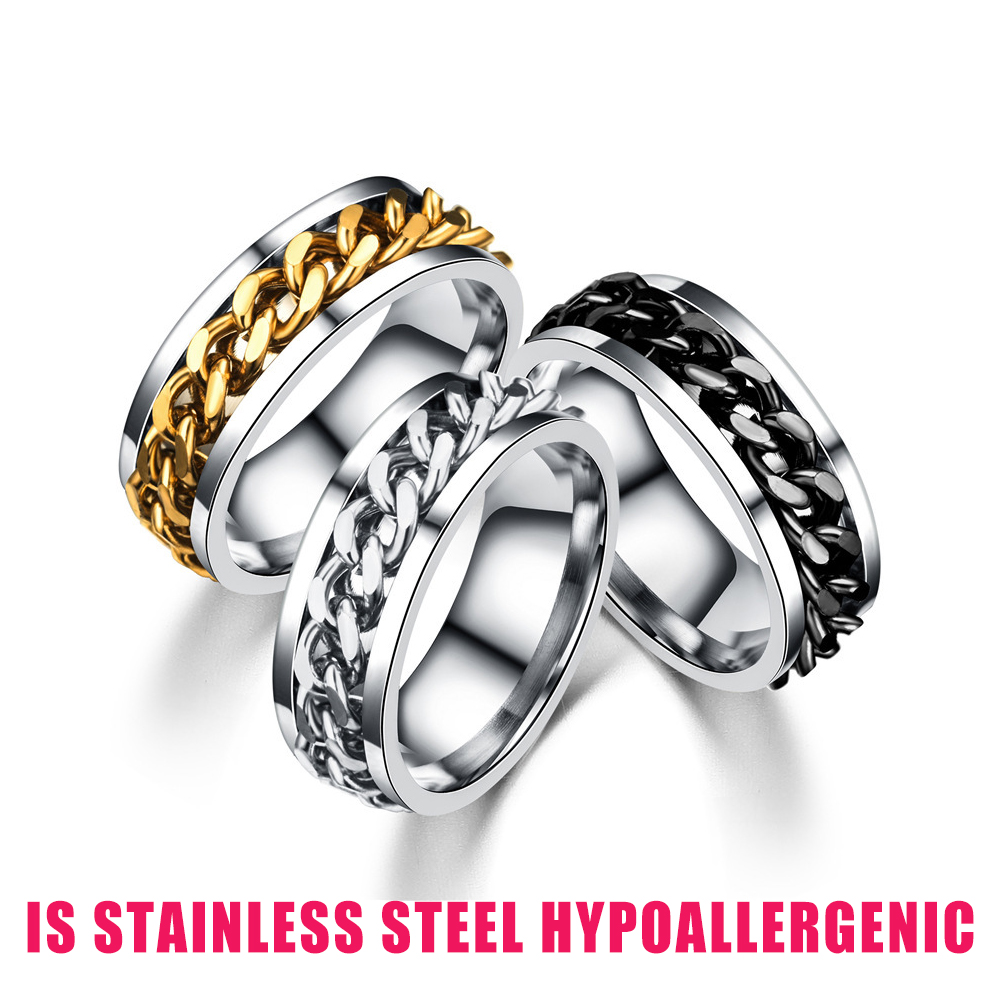 Is stainless steel hypoallergenic