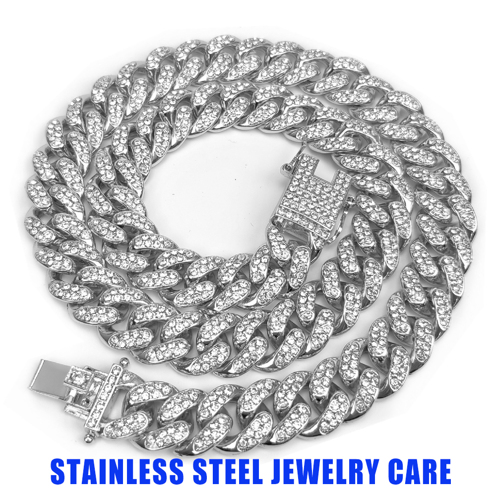 Stainless Steel Jewelry Care